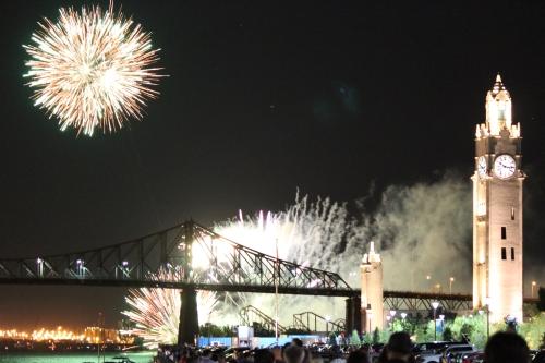 Fireworks em Old Port